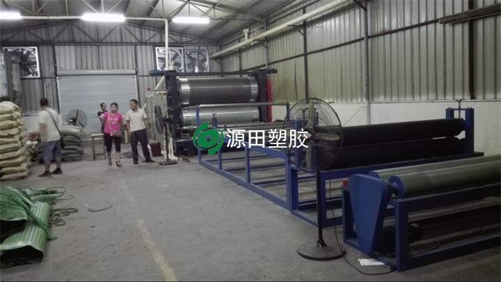 卷材排水板生產車間