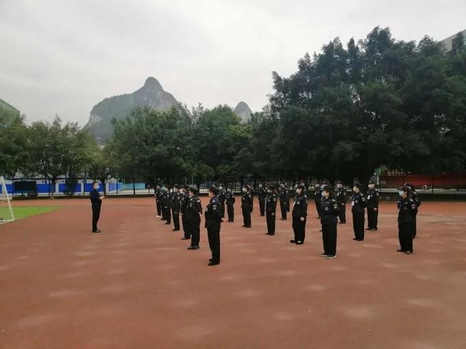 君盾安保集团进驻广西现代职业技术学院4
