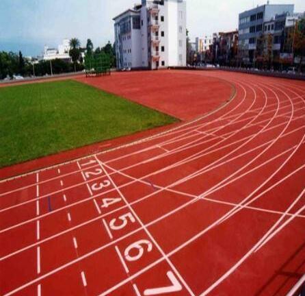 PU球場、彈性跑道