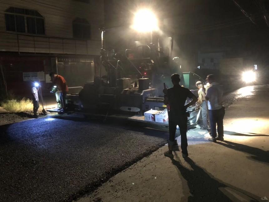 夜光路面的铺设对基础路面的要求