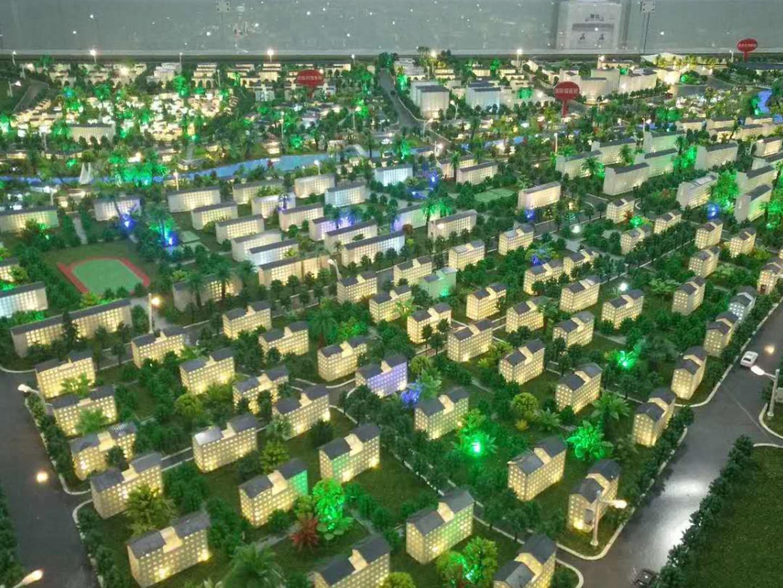 恭城.高铁经济产业园规划模型1:850