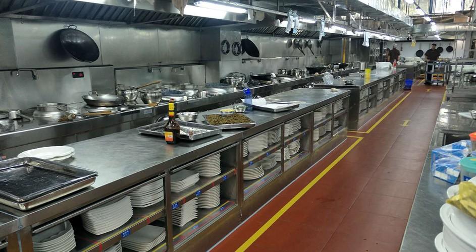 自助餐廳廚房設計方案