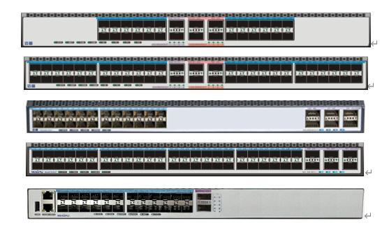 迈普NSS5810/5820系列自主安全 万兆交换机
