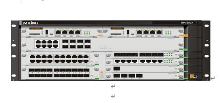 新一代多业务汇聚路由器 MP7300X-08