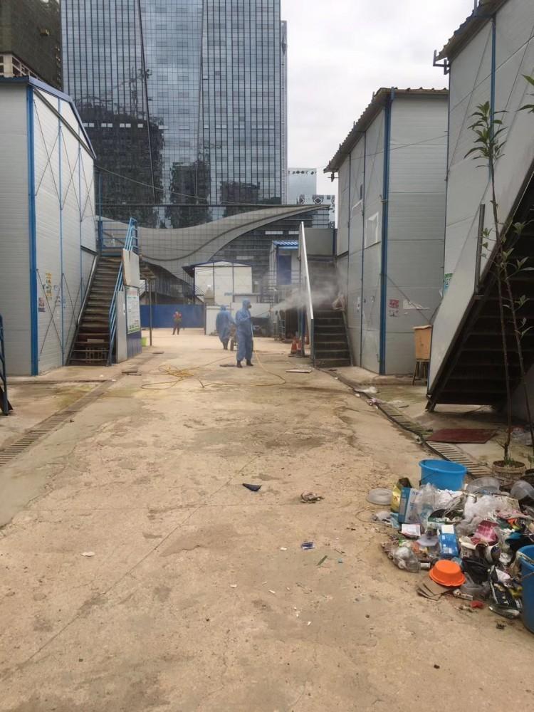 中建3局工地消毒
