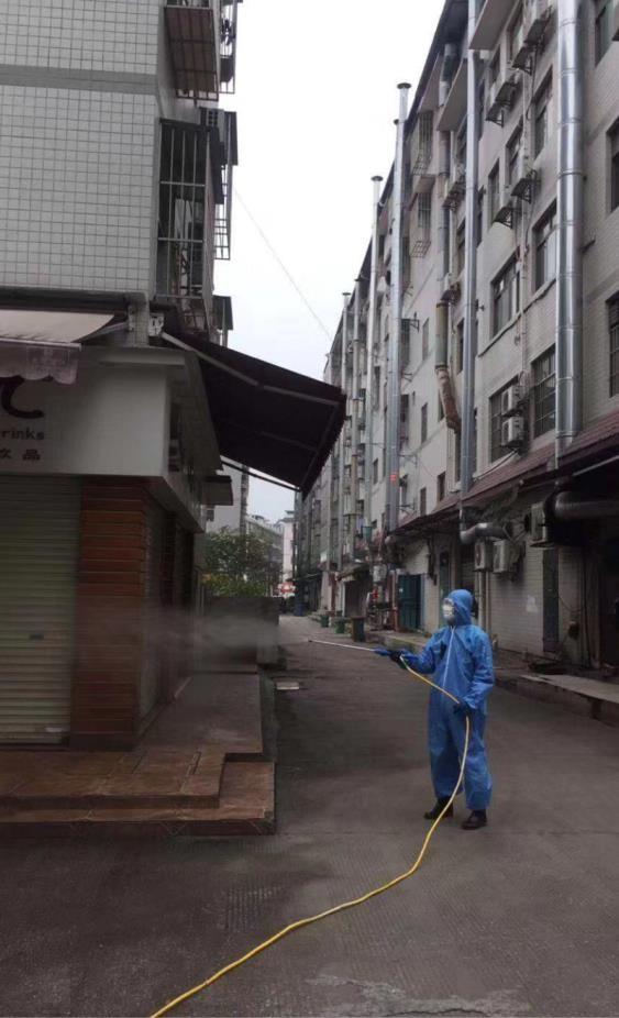 羅賴村東區消毒
