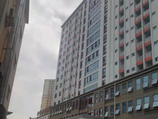 南宁市第三国民病院综合楼利用正花涂料—FDM反射隔热漆