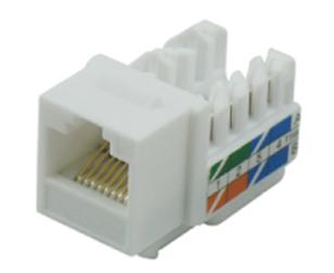 超5类非屏蔽插座模块