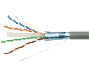 UTP 六类4对屏蔽双绞线