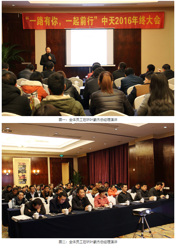 南宁市中天电子科技有限公司2016年终大会