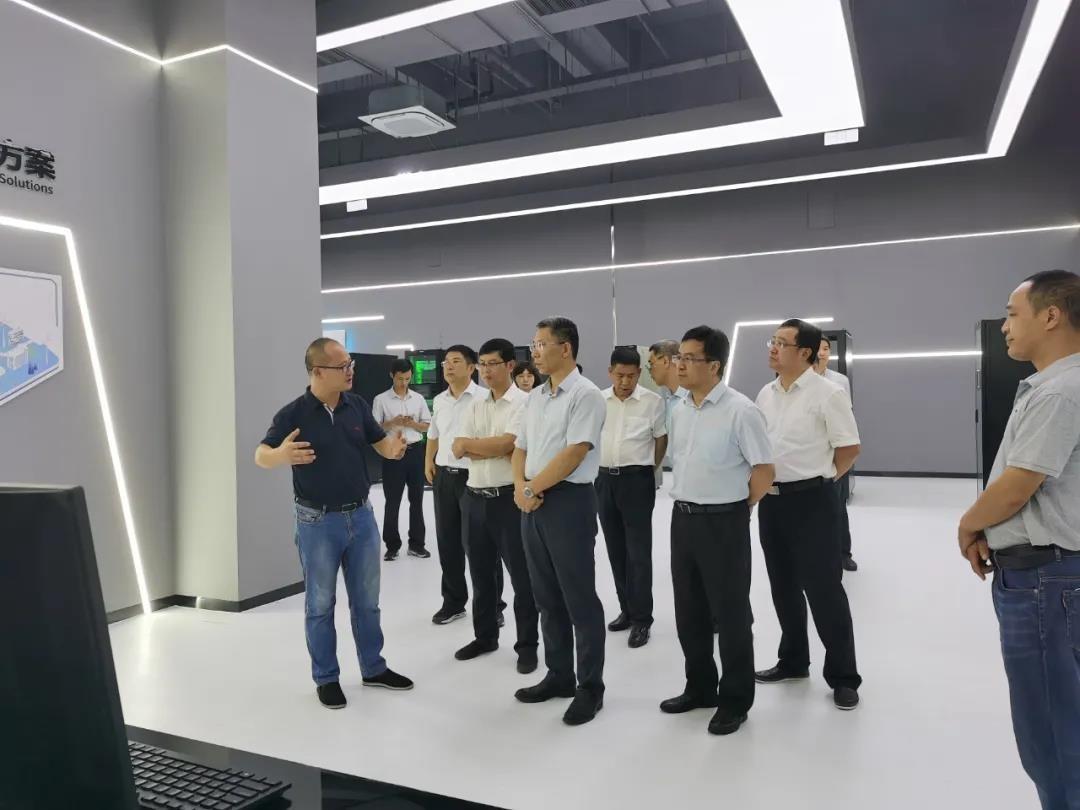 一舟訪客丨江西省政府領導一行蒞臨一舟江西大數據產業園考察調研