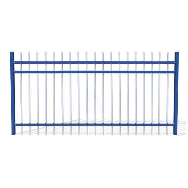 锌钢护栏三横杆