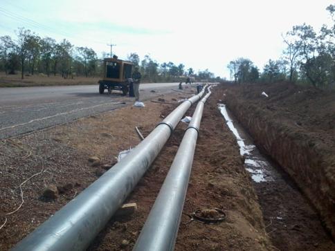 中农钾肥有限公司(老挝)用水工程