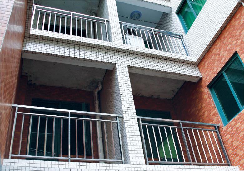 不锈钢阳台栏杆:AJB-001/AJB-002