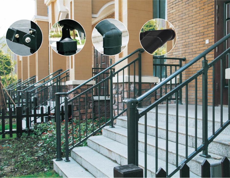 锌钢组装楼梯栏杆:AJX-024