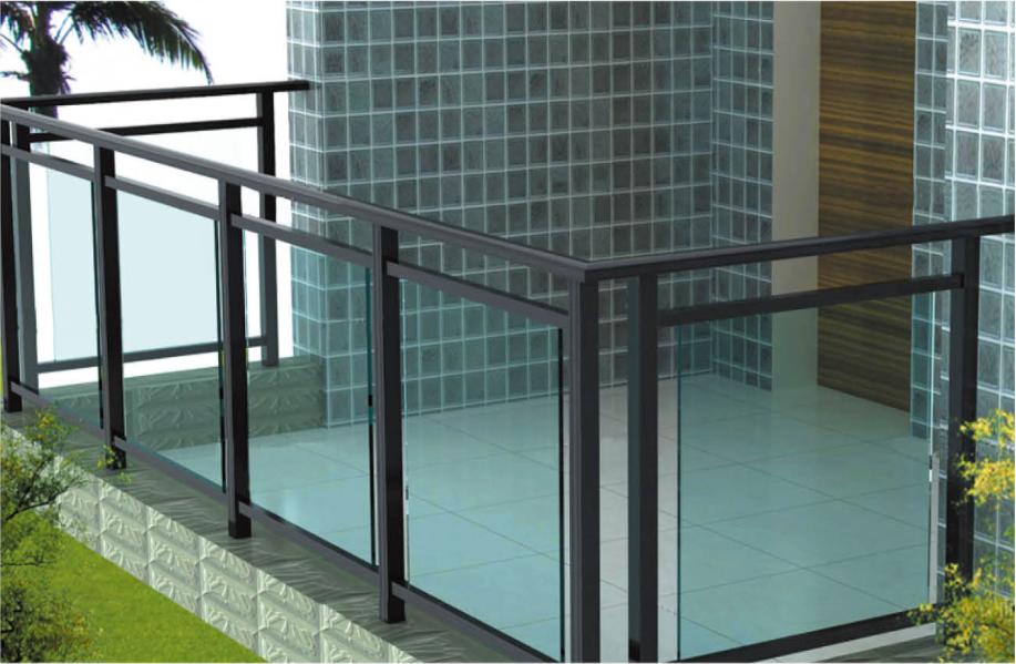 铝合金组装栏杆:AJL-001