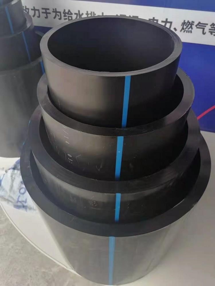 PE給水管獨特的柔韌性和優良的耐刮痕的能力